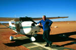 Pilot Trevor Wright, William Creek, South Australia